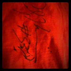 Alonzo Morning signed shirt